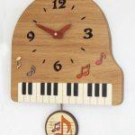 楽器の掛け時計おすすめ20選!ピアノ/バイオリン/管楽器など